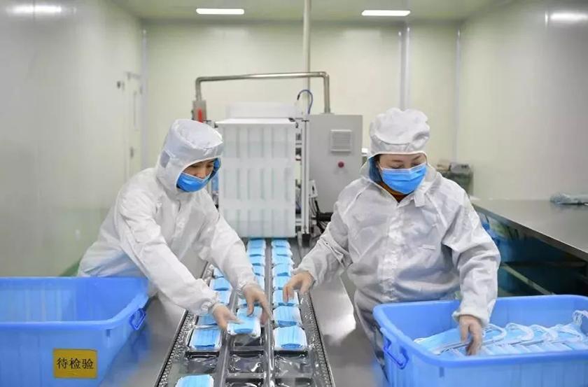 一次性医用口罩生产工艺及无尘车间建设参考